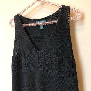Lauren Ralph Lauren Boho Crochet Tank Top
